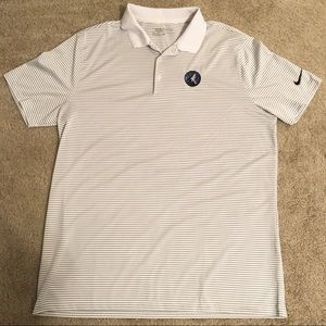 Timberwolves Nike Golf Dri Fit Polo